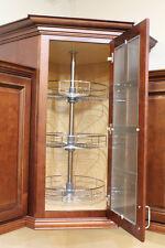 "DOWELL 4D001 360T 40""H Wall Cabinet Corner Lazy-Susan"