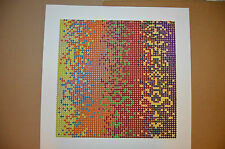 David Roth Artist Signed & Numbered Serigraph Abstract Print 9