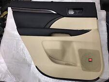14 15 16 Toyota Highlander Rear Left Door panel trim liner interior