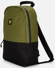 Lyle   Scott 2019 Classic Backpack Black Gym School Flight Travel Bag  Rucksack 1091fd23b0469