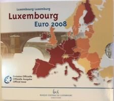2008 Luxembourg 8 Coins Official Euro Set Special Edition