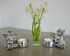 Resin Angel Candle & Tea Light Holders
