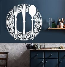 Vinyl Wall Decal Dining Room Decoration Kitchen Restaurant Stickers (736ig)