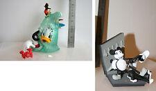 Lot 2 Gashapons/Trading Figures, DISNEY, Donald+Mickey, Yujin