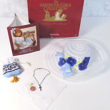 American Girl NELLIE MEET ACCESSORIES Hat Necklace Purse Handkerchief Penny Box!
