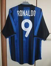 Internazionale Inter Milan 1999-2000 Home football shirt jersey Nike #9 Ronaldo