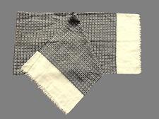 Wool Blend Geometric Vintage Scarves & Shawls