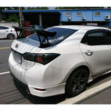 Matte Black For Toyota Corolla Altis 11th Rear JS Look Trunk Spoiler with Stand