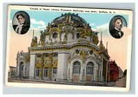 Temple of Music, Where McKinley was Shot, Buffalo NY c1920 Postcard J11