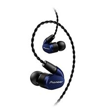 Pioneer SE-CH5T Canal Type Earphones Navy Blue SE-CH5T-L New F/S from Japan