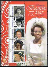 Nederland 2013 3012 serie Beatrix 75 jaar Vel 2 - Royalty