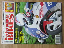 Performance Bikes 1991 Suzuki DR650 Bimota Tesi Aprilia Futura 125 TZR NSR KMX