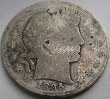 1895 Barber Silver Half Dollar in a SAFLIP® - Good-