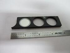 OPTICAL microscope part Nikon filter slide mbn12922 OPTICS AS IS BIN#B3-F-4