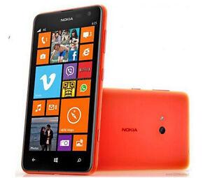 Nokia Lumia 625 Original Unlocked 3G&4G Windows Mobile Phone GPS 5MP 8GB WIFI