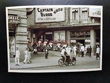 Wyndham Street Central Cinema Theater Ads Building Hong Kong Photo Postcard RPPC