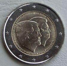 2 Euro Niederlande 2014 Doppelporträt Willem / Beatrix unz.