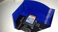 Sega Dreamcast GDEMU GD-EMU SD-Karten Einsatz SD Card Tray - 3D Druckauftrag NEU
