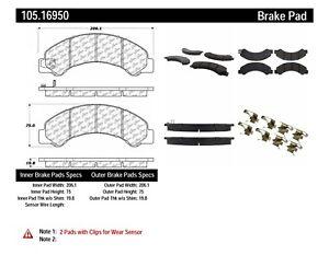 Rr Super Premium Ceramic Brake Pads  Centric Parts  105.16950