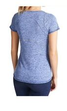 Ex M&S Blue Marl Exercise Top All Sizes Available