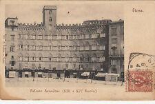NP5763 - SIENA - PALAZZO SANSEDONI VIAGGIATA 1902