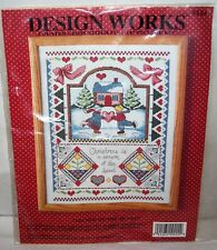 Design Works Counted Cross Stitch Kit #9224  SEASON OF THE HEART  New