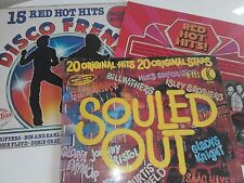VARIOUS SOUL DANCE NORTHERN SOUL SOULED OUT FRENZY HOT HITS 3 LP RECORDS JOB LOT