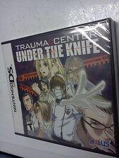 Brand New Factory Sealed Trauma Center Under the Knife Nintendo DS Very Rare!