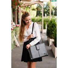 Real Leather womens  briefcase handbag shoulder bag Paolo Peruzzi Bergamo 168-pp