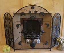 Fire guard / Bird design decorative Screen Metal , fire screen , fire guard