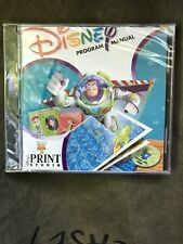 Disney Pixar Print Studio Toy Story 2 Disney Program Manual Pc