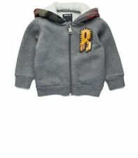 Replay toddler boys winter 2017 grey hooded jacket 24 months
