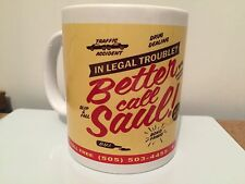 MUG NOVELTY BETTER CALL SAUL BREAKING BAD with FREE POSTAGE also Other designs
