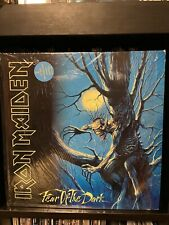 RARE Iron Maiden Fear Of The Dark 1992 UK 2LP Gatefoeld In Shrink Metal Rock