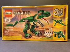 Lego Creator Mighty Dinosaurs 31058 Lego 3 in 1 T Rex Triceratops Pterodactyl