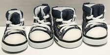 Nothing but Love Dog Sneakers Canvas Shoes for SMALL BREED Dogs