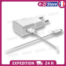 CHARGEUR ANDROID SAMSUNG S6 S7 Edge LG XPERIA USB LOT KIT 2 EN 1 CABLE + SECTEUR