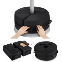 Umbrella Base Weight Stands Detachable Sand Bag Tent Outdoor Offset Heavy Duty