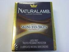 Lot of 10 Boxes Total 30 Condoms - TROJAN Naturalamb Condoms - Exp 01/2022