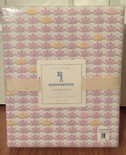 NEW Pottery Barn Kids Cassandra QUEEN Sheet Set PINK