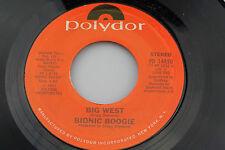 Bionic Boogie: Big West / Risky Changes  [Unplayed Copy]