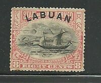 Album Treasures Labuan Scott #  79  8c Dhow Mint Hinged