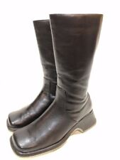Studio By 4 Seasons Women's Black Leather Boots Size 8 M