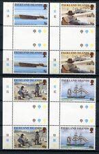 Falkland 1999 Goldrausch Gold Rush Schiffe Ships Stegpaare 763-766 MNH