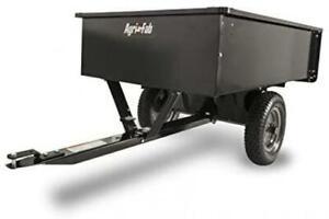 Agri-Fab 45-0101 750-Pound Max Utility Tow Behind Dump Cart, Black, New