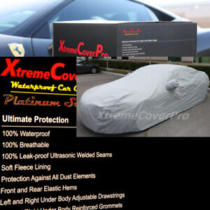 1988 1989 1990 1991 1992 1993 Volvo 240 Waterproof Car Cover w/MirrorPocket GREY