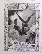 """Rick Griffin """"Lucifer Rising"""" 