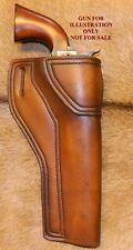 """Gary C's Leather Avenger OWB HOLSTER 1851/1861 Navy 7-1/2"""" Blackpowder Revolver"""