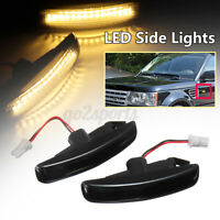 x LED Side Indicator Light Turn Signal For Range Rover Discovery 3 4 Freeland