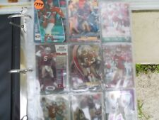 Jeff Garcia 49ers QUARTERBACK BOOK OF OVER 150 MINT CARDS SOME DUPE